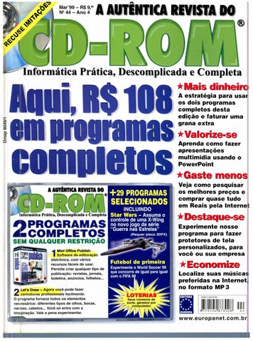 Revista do cdrom 044 by Michel França - issuu f68cf16fd2b53