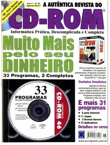 Revista do cdrom 046 by Michel França - issuu 65d9ac46ae6b4