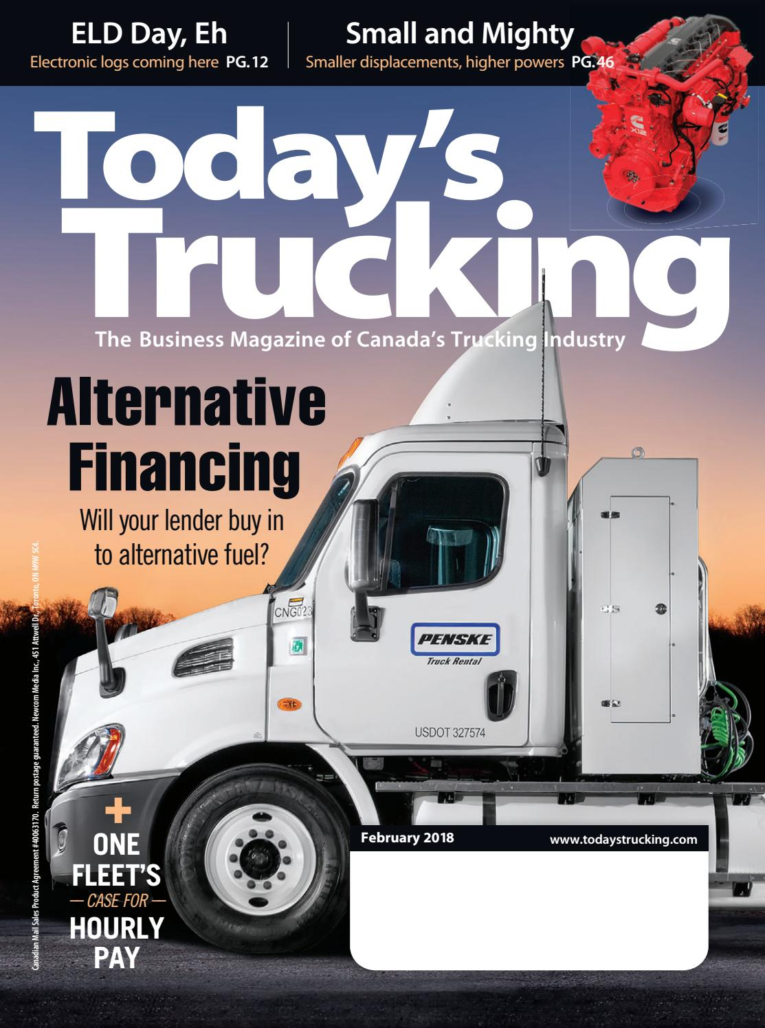 Today S Trucking February 2018 By Annex Business Media Issuu