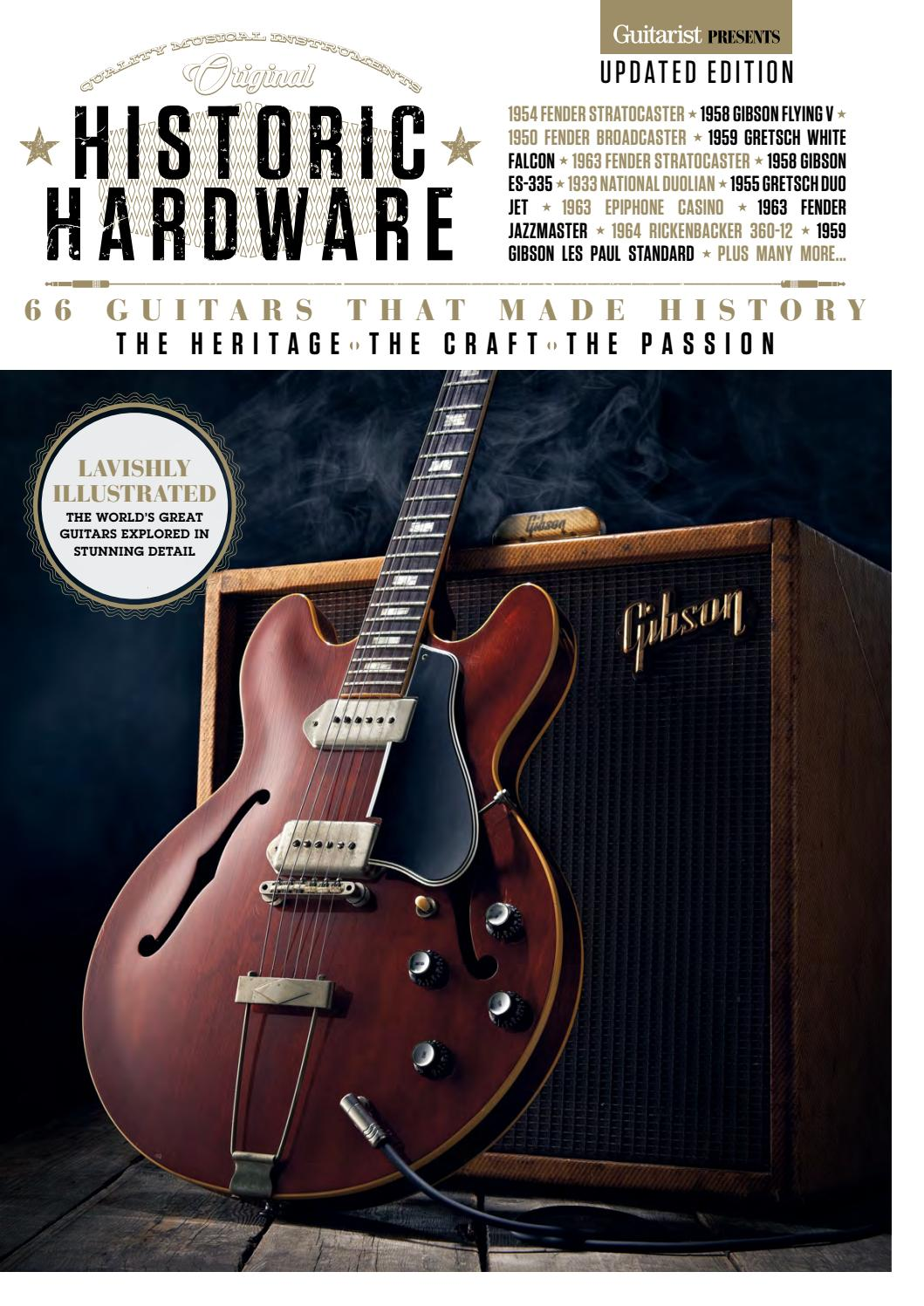 Music Bookazine 1654 Sampler By Future Plc Issuu Epiphone Les Paul Custom Here Is An Example Of Modern And 50 S Wiring