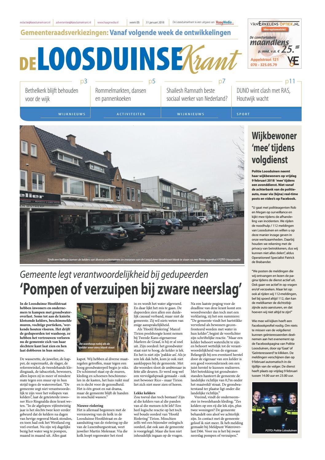 De LoosduinseKrant week 05 - 2018 by HaagMedia - issuu