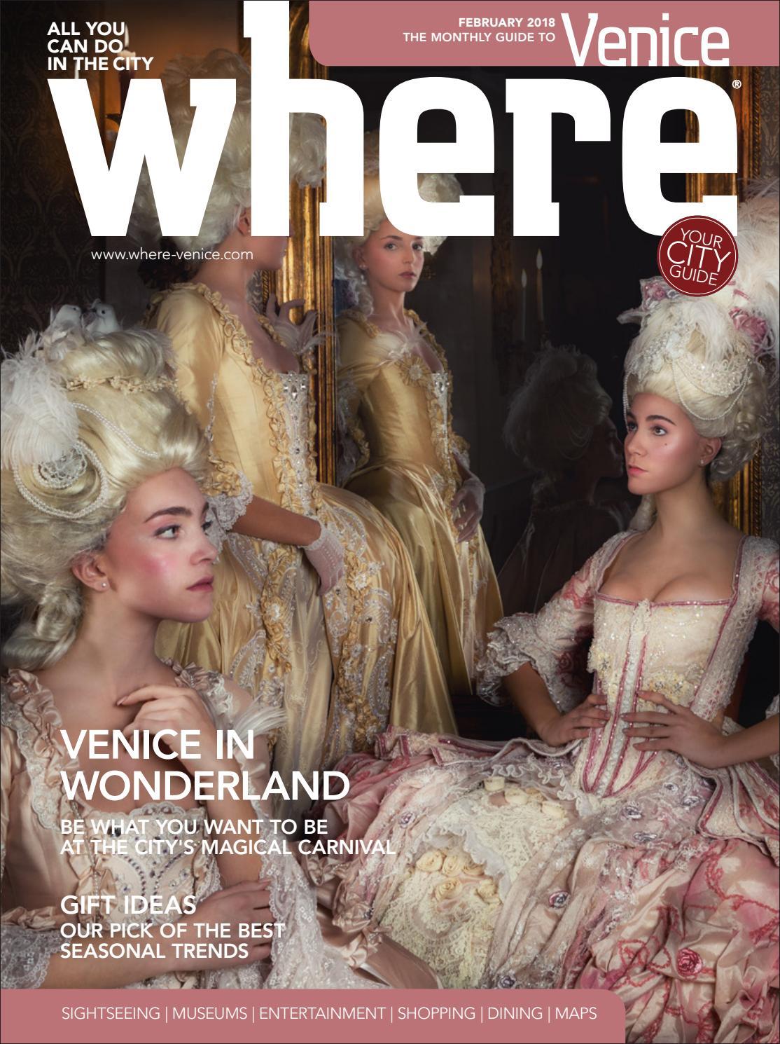 Where Magazine Venice Feb 2018 By Morris Media Network Issuu Pes 2017 17 Update Bip Aio Beautiful Indonesia