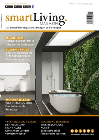 Smartliving Magazin 01 2018 By Status Kommunikation Und Verlag Issuu