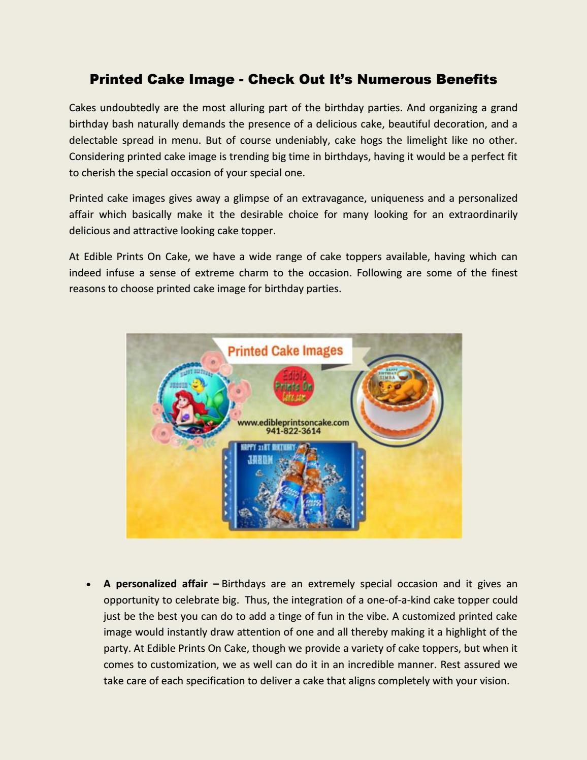 Miraculous Printed Cake Image Edible Prints On Cake Edible Birthday Cake Personalised Birthday Cards Petedlily Jamesorg