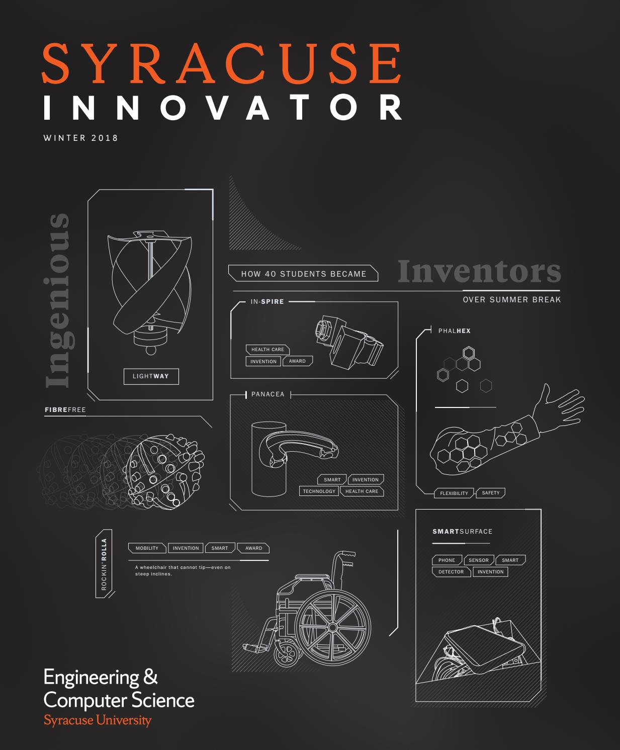 Syracuse Innovator Winter 2018 by Syracuse University\'s College of ...