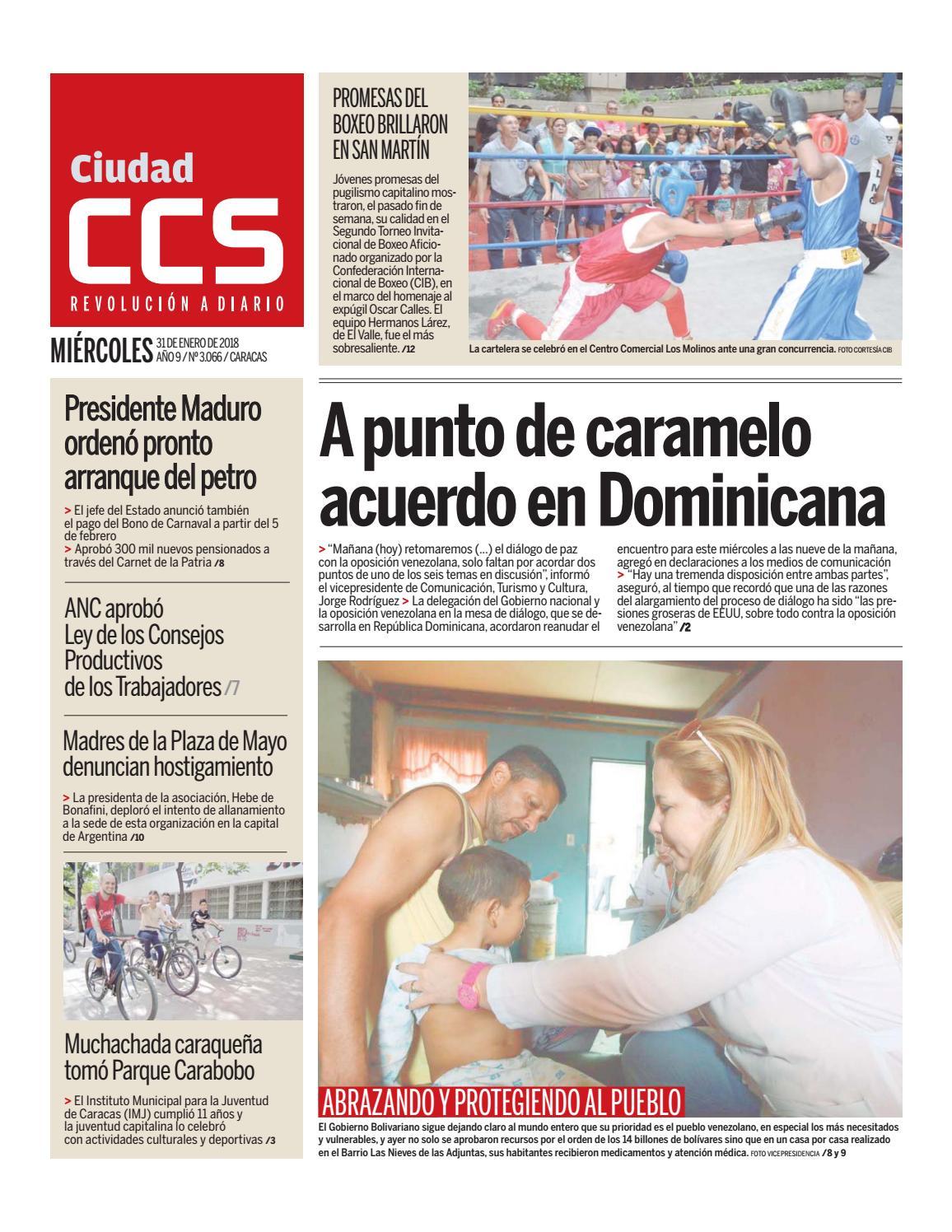 31/01/18 by Ciudad CCS - issuu
