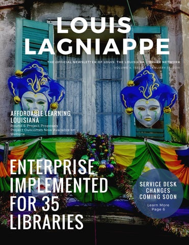 LOUIS Lagniappe Volume 4, Issue 3 by LOUIS Libraries - issuu