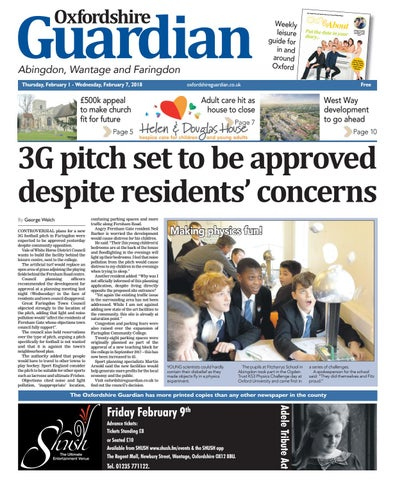 5d6892b9ba45 01 february 2018 oxfordshire guardian abingdon by Taylor Newspapers ...