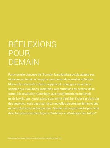 Page 89 of Visions solidaires pour demain #1 - Réflexions pour demain