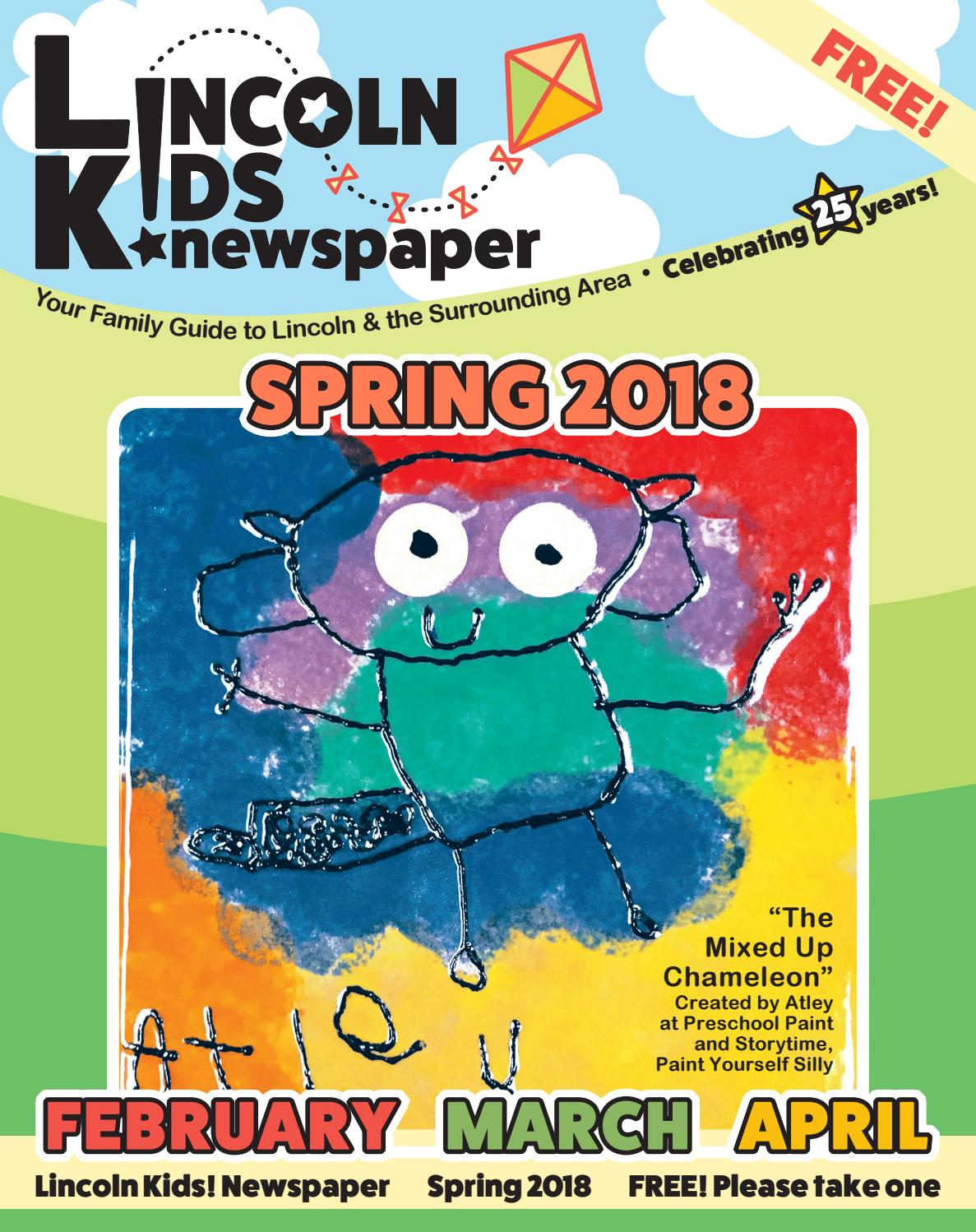 ada794f8281d Lincoln Kids! Spring Edition 2018 by Lincoln Kids! newspaper - issuu