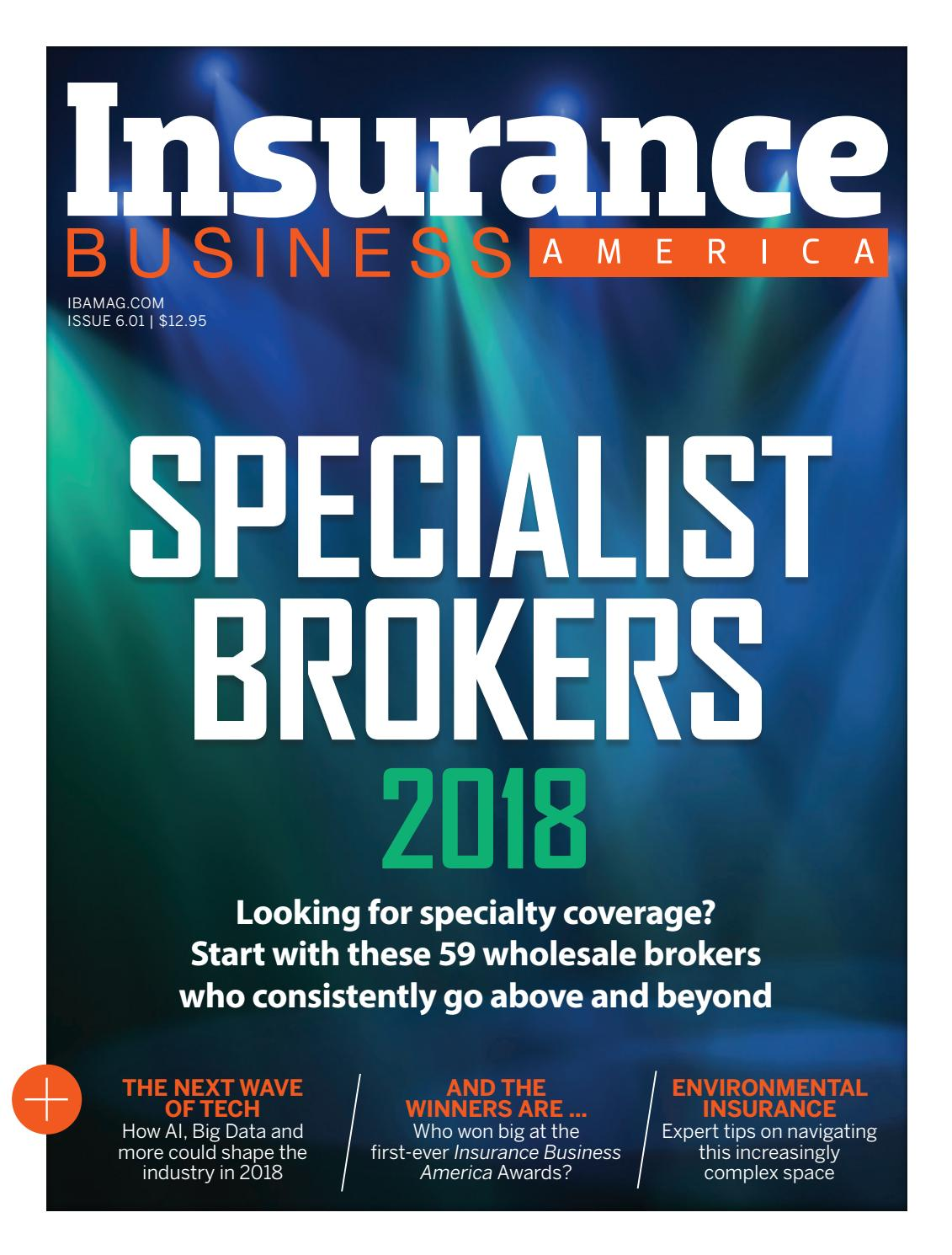 Insurance Business America issue 6.01 by Key Media - issuu