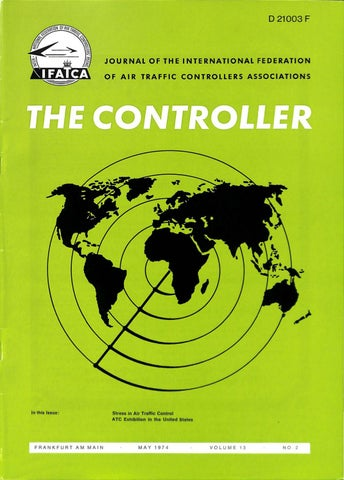 IFATCA - The Controller - May 1974 by IFATCA - issuu