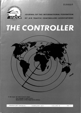 IFATCA - The Controller - February 1977 by IFATCA - issuu