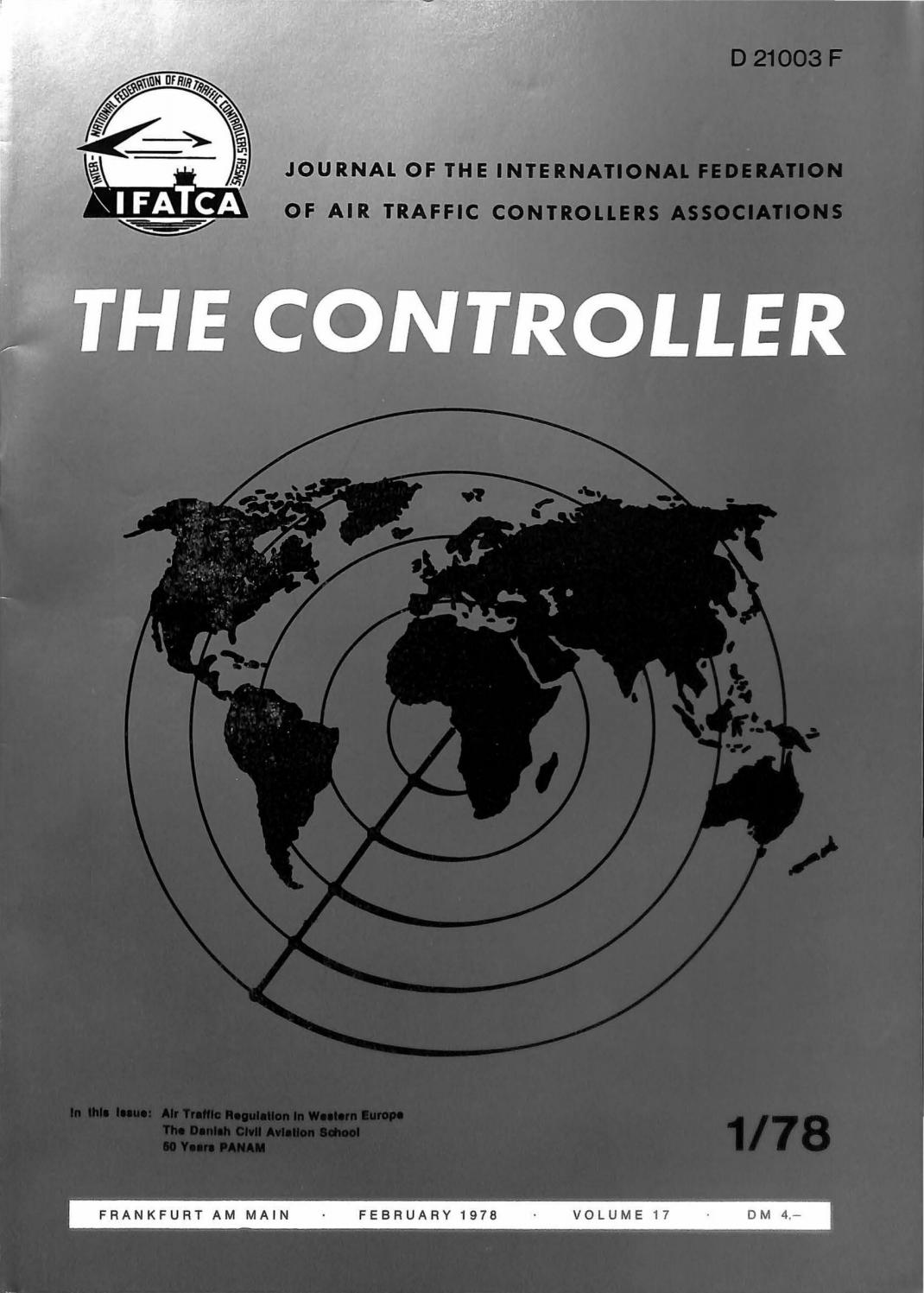 IFATCA - The Controller - February 1978 by IFATCA - issuu
