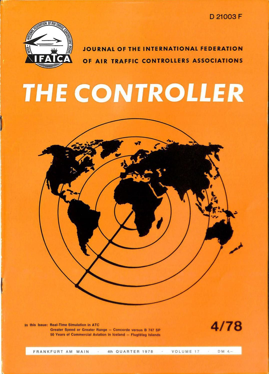 IFATCA The Controller - December 1978 by IFATCA - issuu