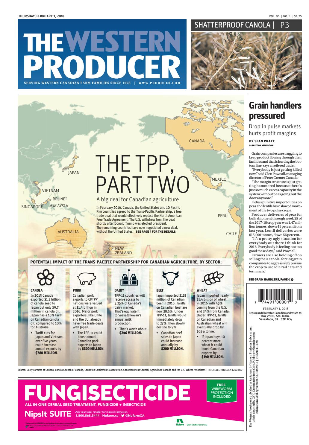 The Western Producer February 1 2018 By The Western Producer Issuu