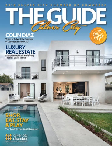Culver City The Guide 2018 by Chamber Marketing Partners, Inc  - issuu