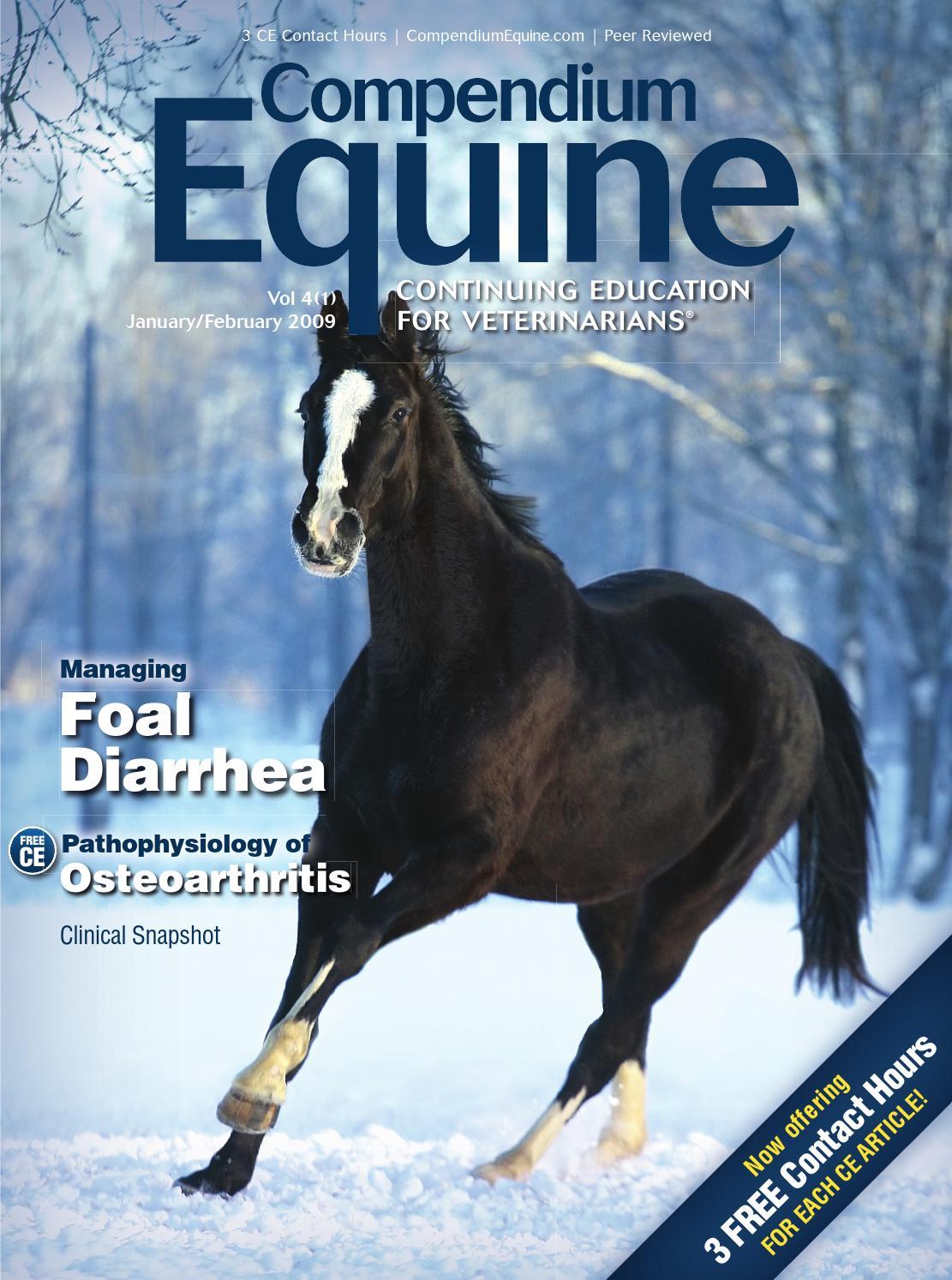 Compendium Equine | January 2009
