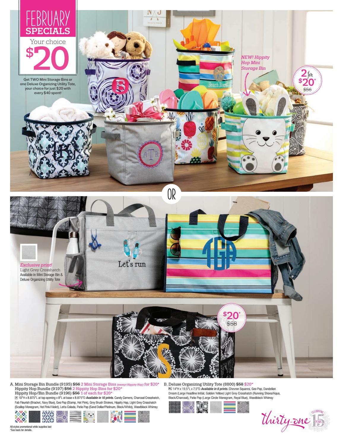 Thirty One February 2018 Special Canada By Shaunacey