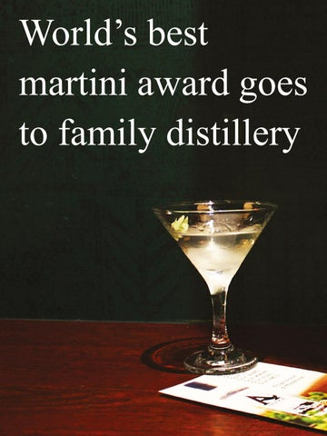 Page 86 of World's best martini award goes to family distillery