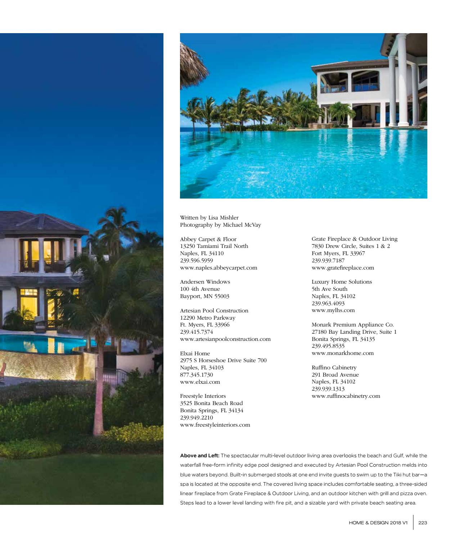 Home Design Magazine Southwest Florida Edition 2018 By