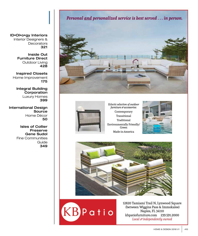 Home Design Magazine Southwest Florida Edition 2018 By Anthony