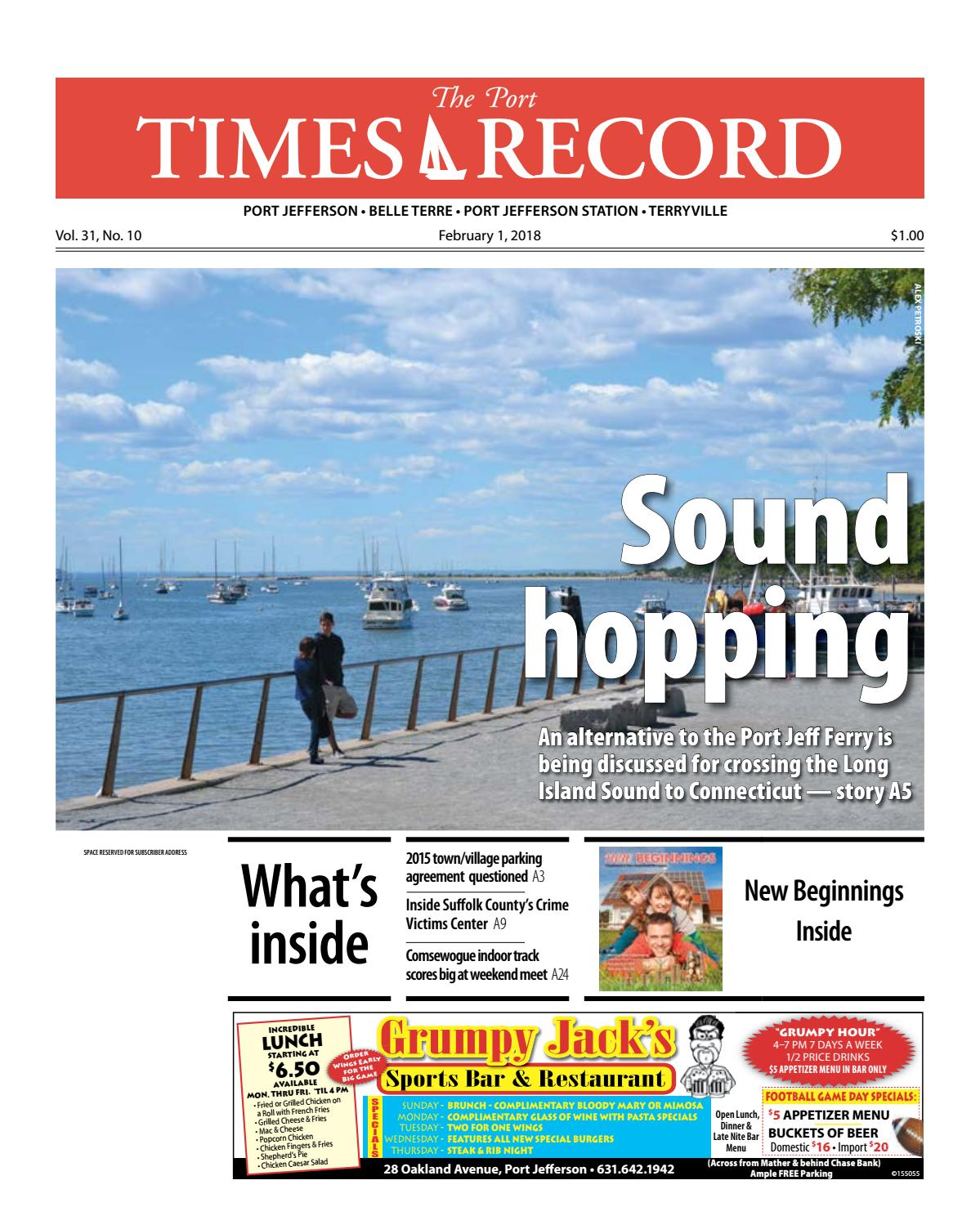 The Port Times Record - February 1, 2018 by TBR News Media - issuu