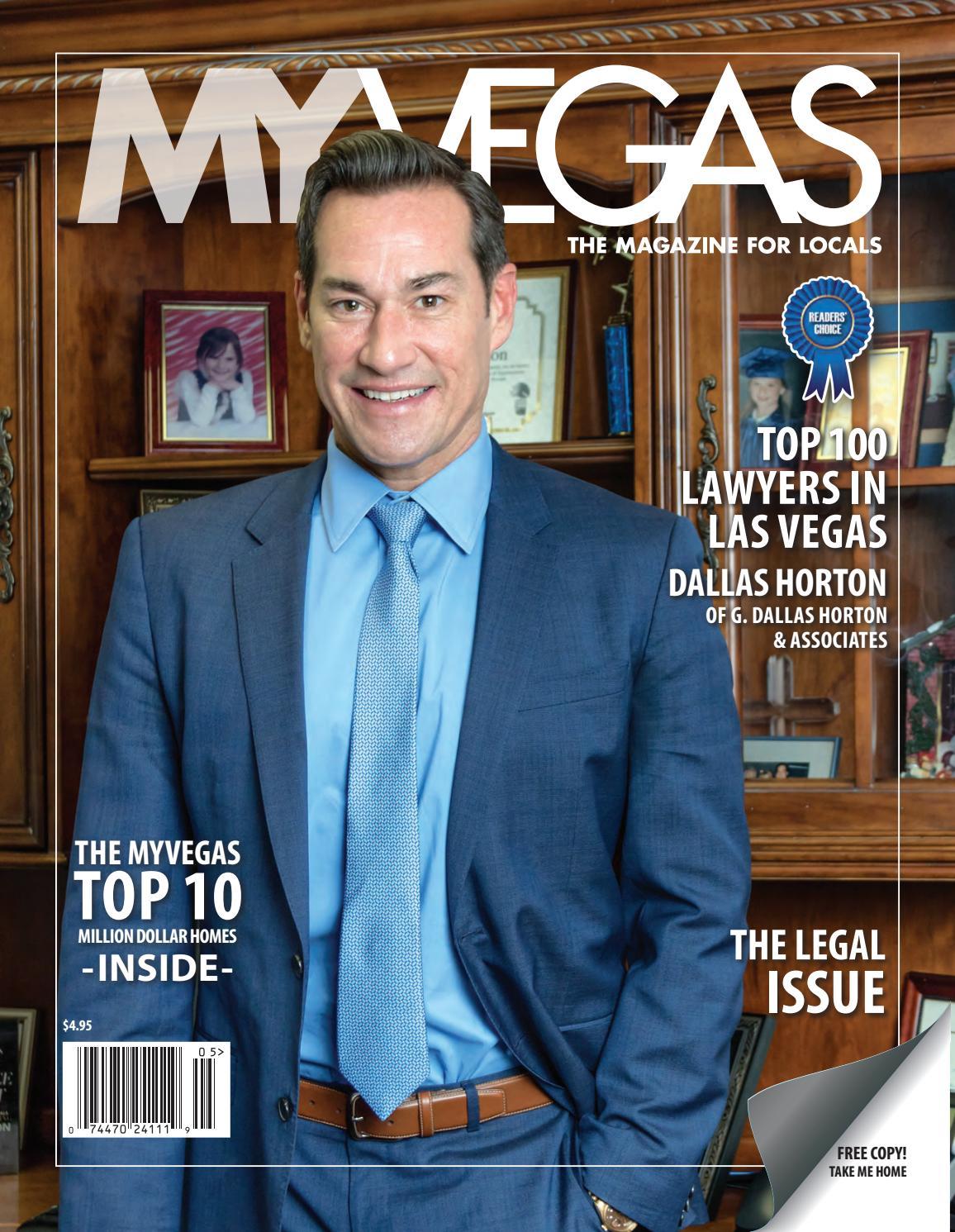 Dallas Horton MYVEGAS Winter by MyVegas Mag - issuu