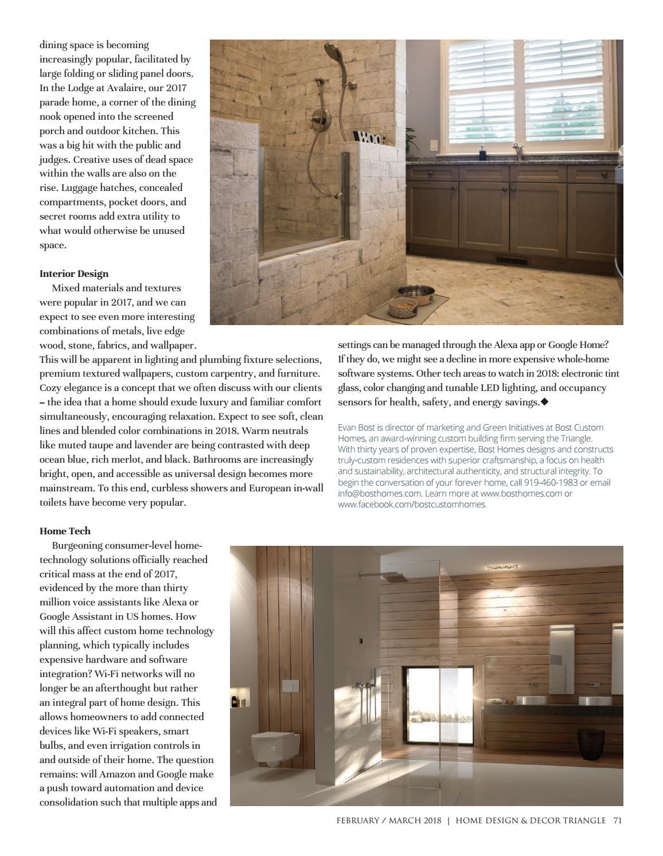 Triangle February March 2018 by Home Design & Decor Magazine - issuu