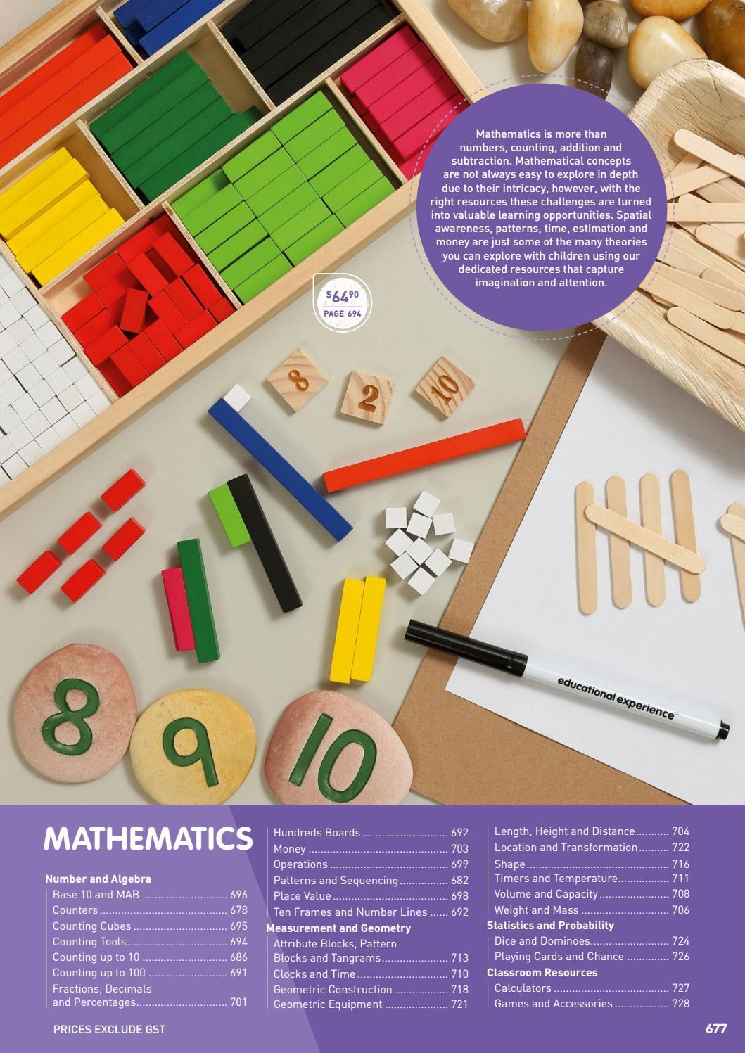 2018 Learning Resource Catalogue Mathematics by Educational ...