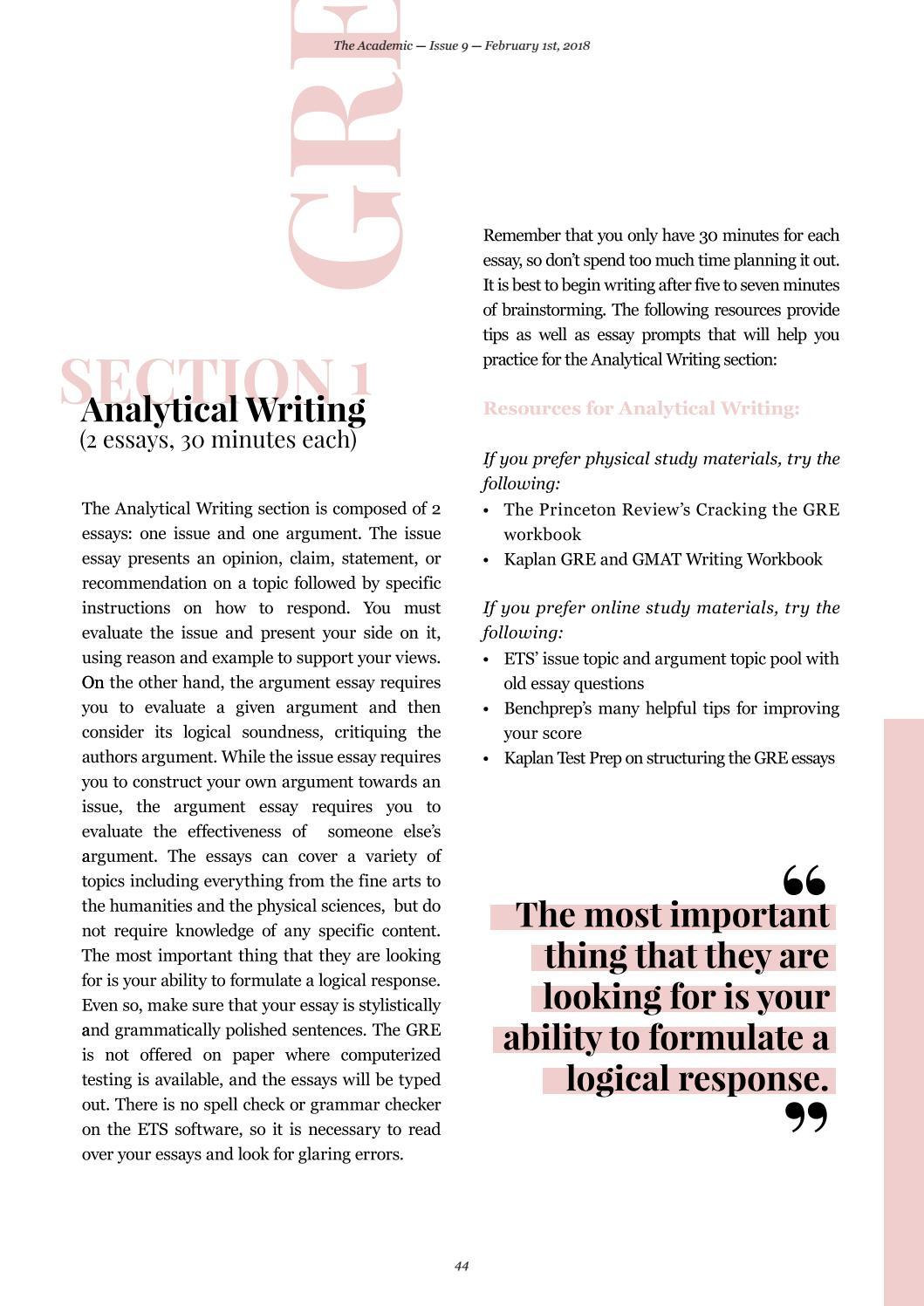 GMAT Essay Writing Guide