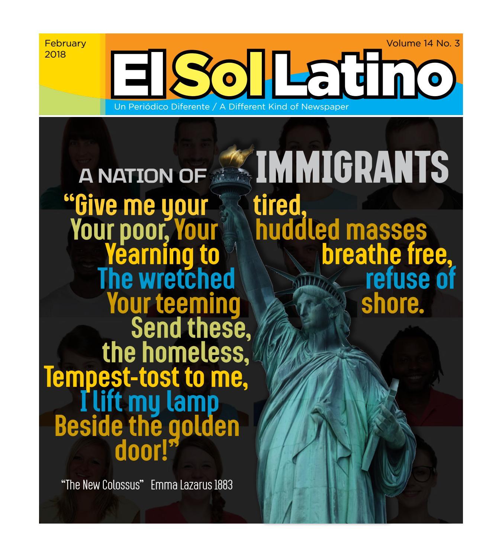 El Sol Latino   February 2018   14.3 by El Sol Latino - issuu