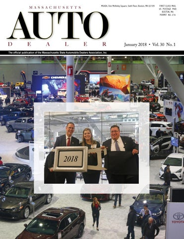 January Massachusetts Auto Dealer Magazine By Massachusetts - Boston car show 2018