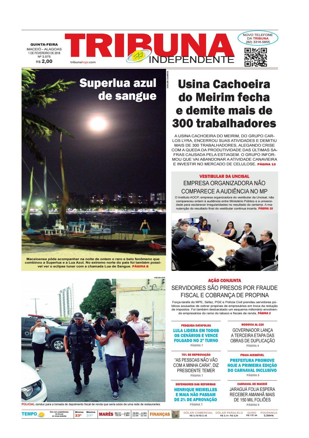 f836df77c78 Edição número 3075 - 1 de fevereiro de 2018 by Tribuna Hoje - issuu