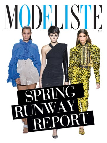 a2835ee2f49a Modeliste Magazine February 2018 by Modeliste Magazine - issuu