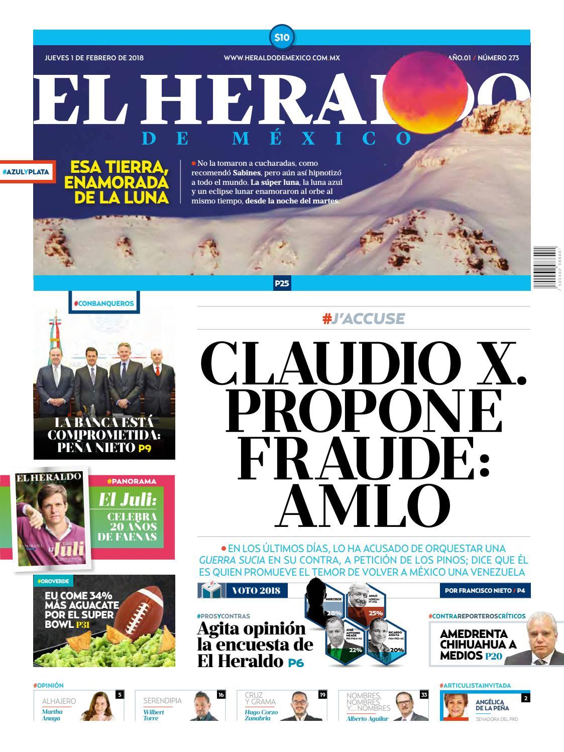 El Heraldo de México 01 de febrero de 2018 by El Heraldo de México - issuu 3940603b042