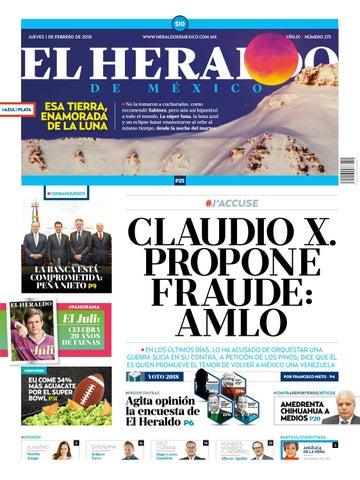 El Heraldo de México 01 de febrero de 2018 by El Heraldo de México ... 9488af5cc87