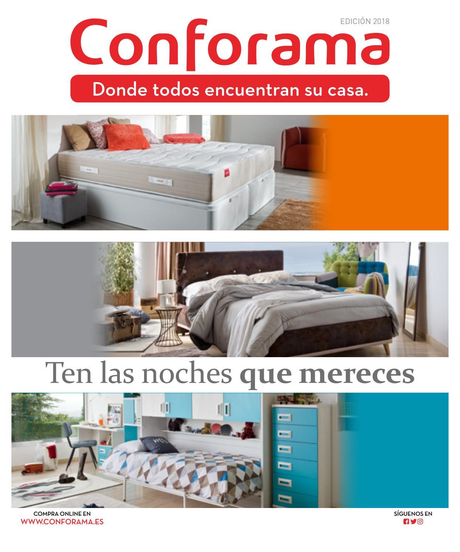 Catálogo conforama guía de dormitorios y armarios by Ofertas ...
