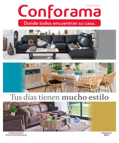 Cat logo conforama gu a de sof s y salones by ofertas for Sofas conforama catalogo