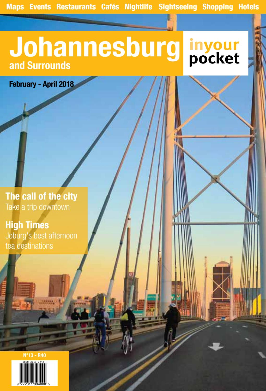 Johannesburg In Your Pocket Issue 13, Feb-April 2018 by Johannesburg ...