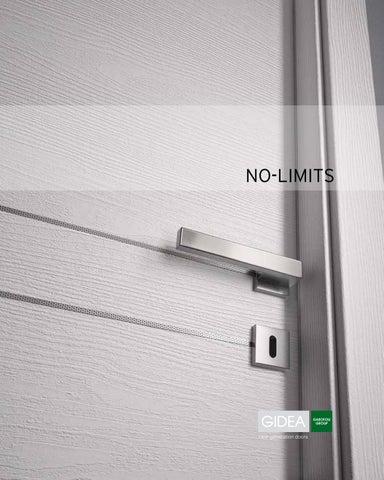 Gidea no limits by garofoli group issuu for Gidea no limits