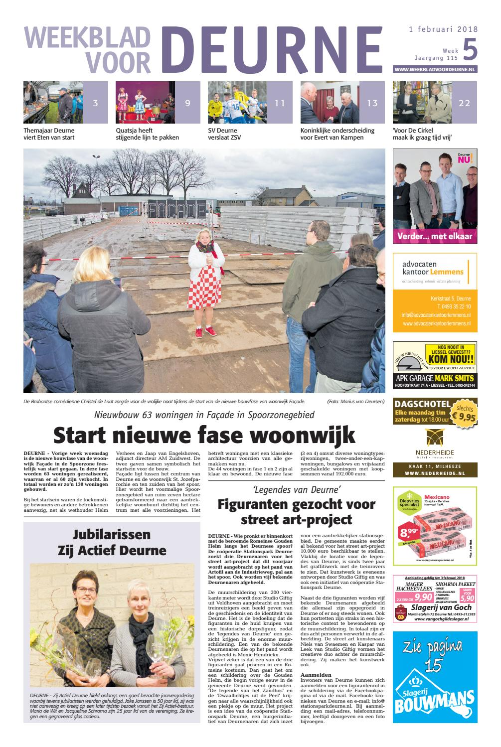 size 40 69449 d1b98 Weekblad voor Deurne wk05 2018 by Das Publishers! - issuu