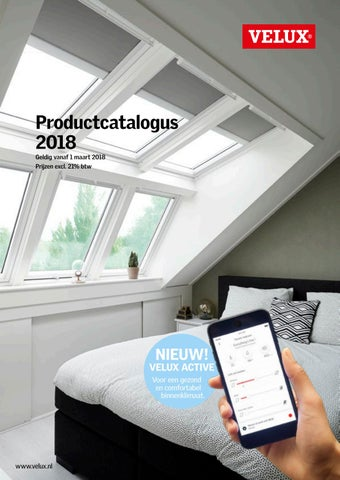 velux productcatalogus 2018 by velux nederland b v issuu. Black Bedroom Furniture Sets. Home Design Ideas