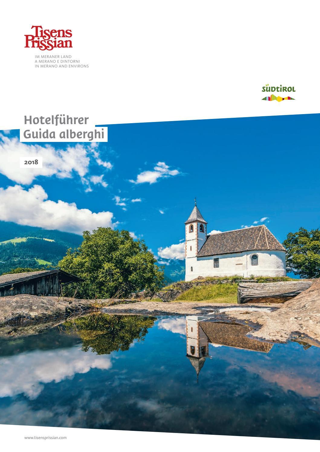 Tisens Prissian Unterkunftskatalog 2018 By Tourismusverein Tisens Prissian Issuu