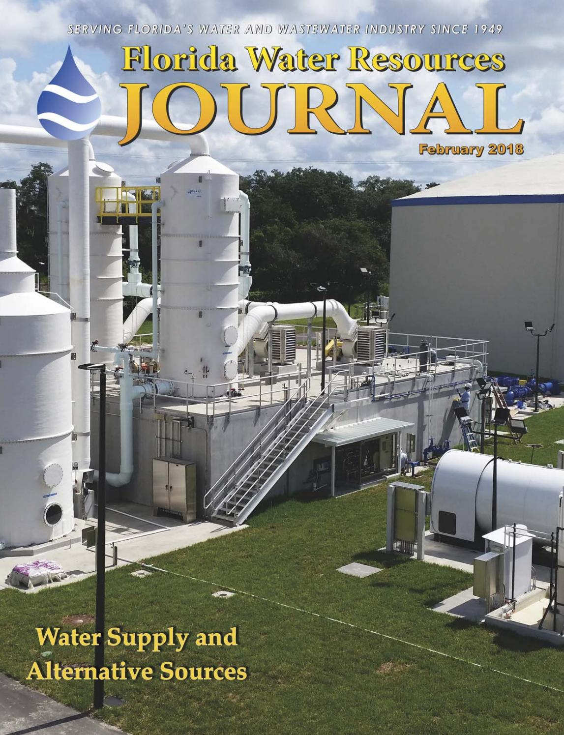 Florida Water Resources Journal - February 2018 by Florida