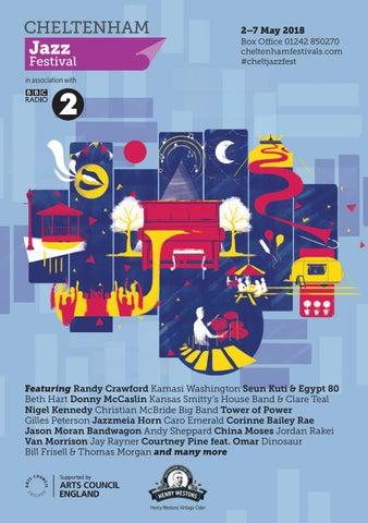 aa917be4e04789 Cheltenham Jazz Festival Brochure 2018 by Cheltenham Festivals - issuu