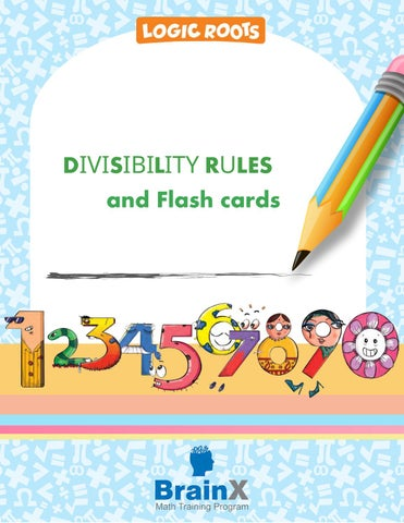 image relating to Divisibility Rules Printable named Divisibility laws and printable charts and flash playing cards through