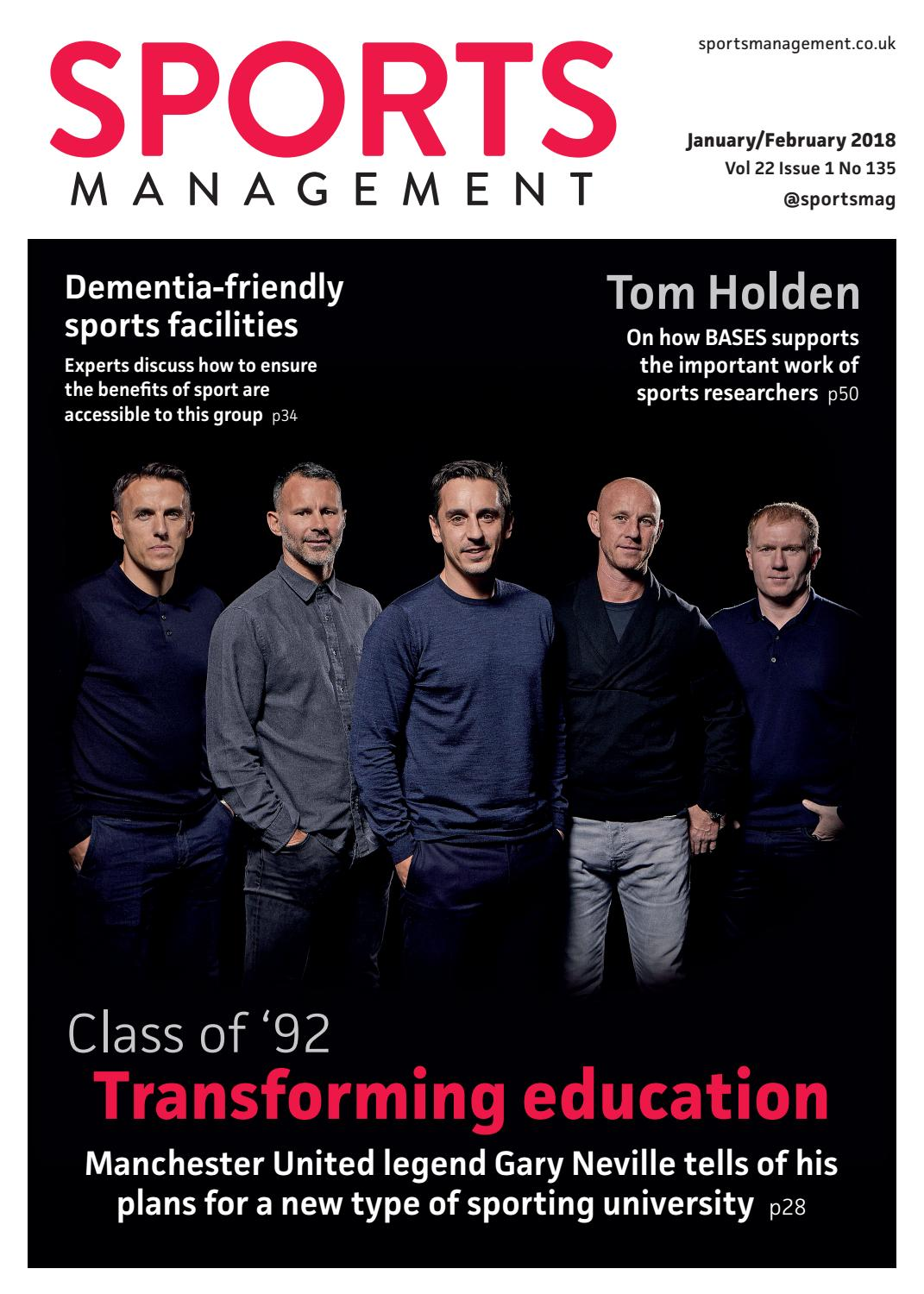 27e3987d416 Sports Management issue 135 by Leisure Media - issuu