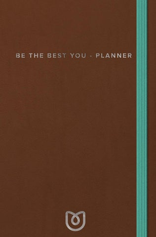 Inkijkexemplaar Be The Best You Planner Mom In Balance By Veen