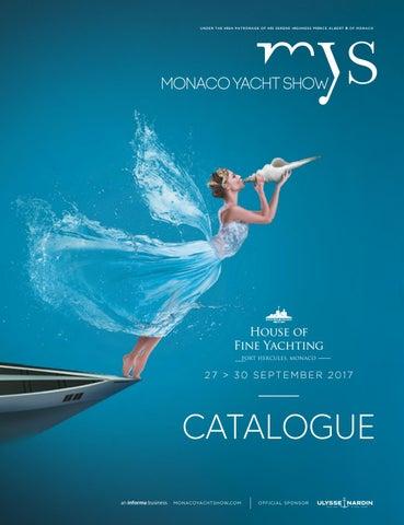 Monaco Yacht Show Catalogue 2017